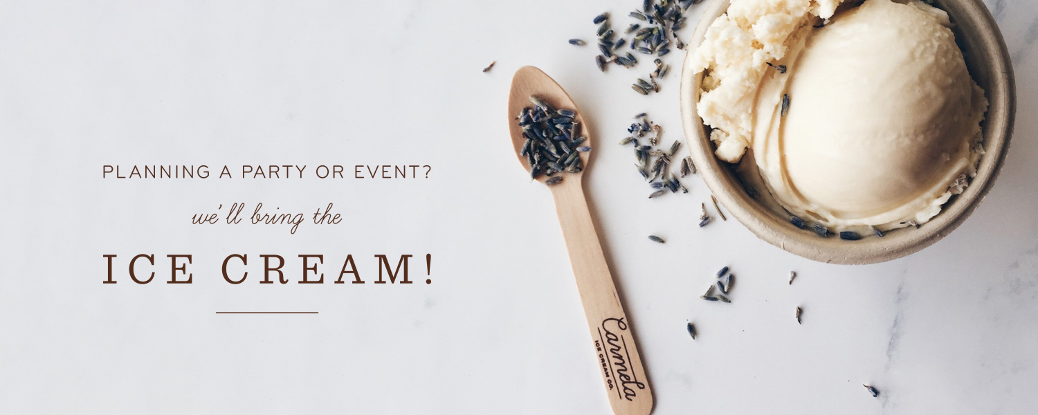 Planning a Party or Event? We'll Bring the Ice Cream.