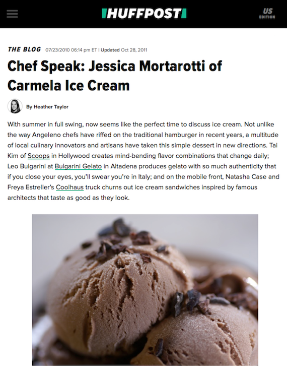 Huffpost Chef Speak