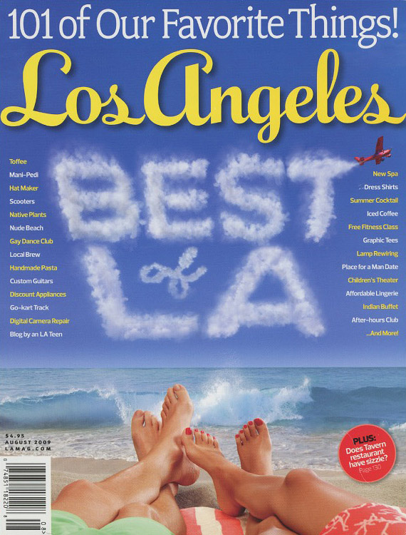 Carmela La Mag Cover