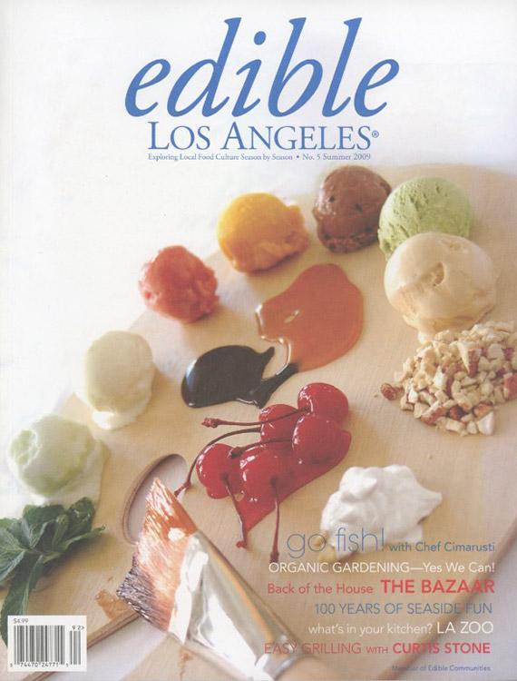 Edible La Cover