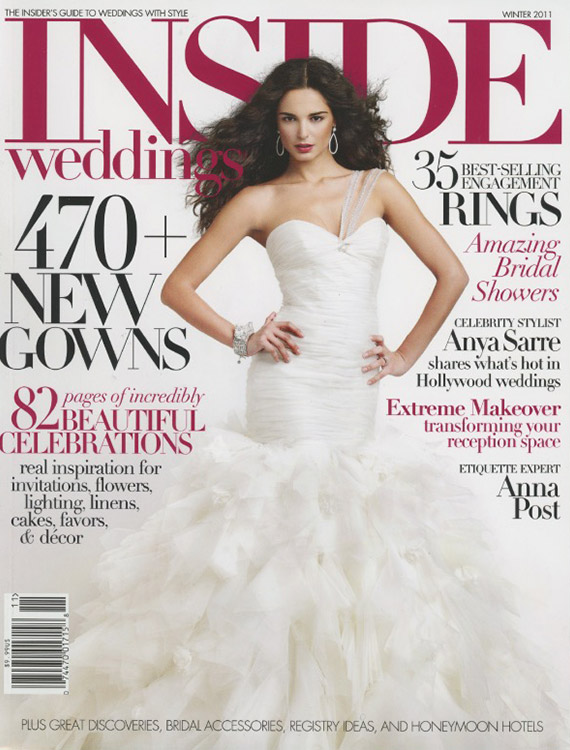 Inside Weddings 2011 Cover