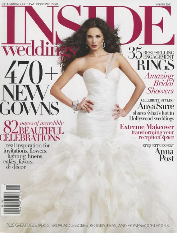 Inside Weddings 2011 Cover