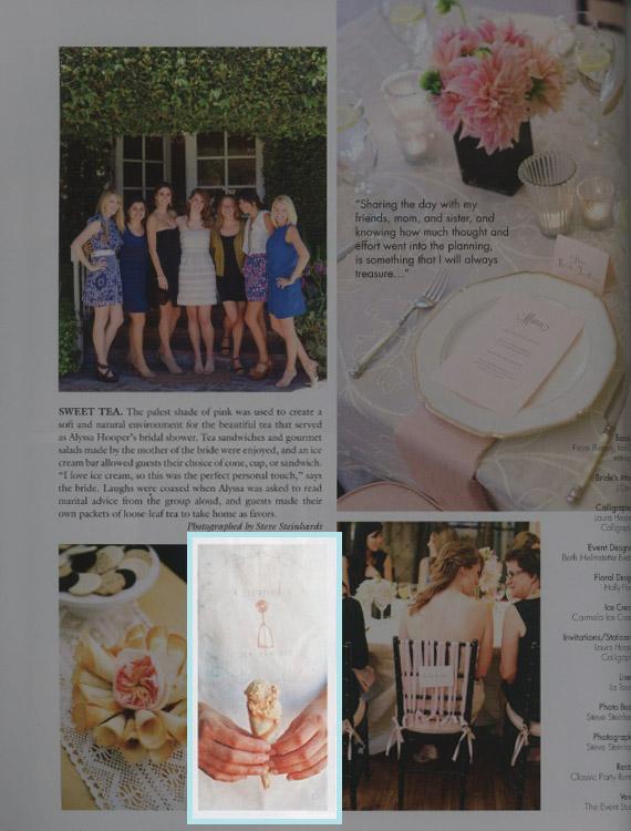 Inside Weddings 2011 Detail
